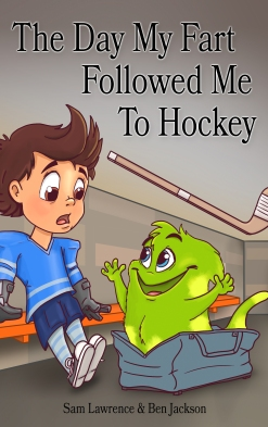 Fart Hockey Kindle Cover